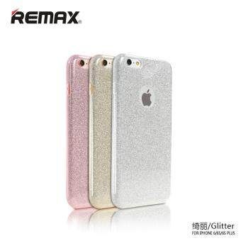 Harga Remax Glitter Series Phone Case For iPhone6/6s Gold