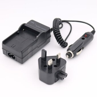 Harga NP-BG1 Battery Charger for SONY Cyber-Shot DSC-W110 DSC-W170DSC-W215 DSC-W220 AC+DC Wall+Car