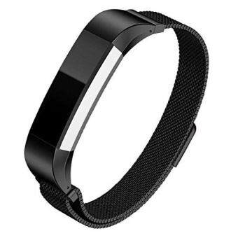 Harga Hanlesi Band for Fitbit Alta HR , Fitbit Alta , Fitbit Alta 2 , Stainless Steel Bracelet Fitness Accessory Metal Wristband for Fitbi Alta