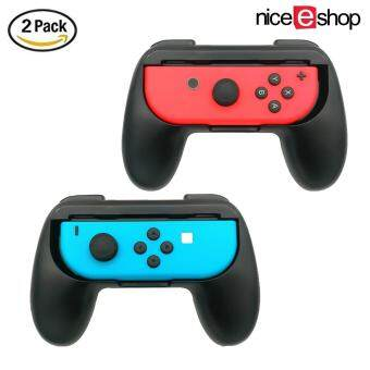 Harga niceEshop 2 Pack Nintendo Switch Joy-Con Grips Controller, Wear-resistant Joy-con Handle Accessory Kit For Nintendo Switch, Black