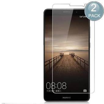 Harga Screen Protector, Tempered Glass Screen Protector Guard for Huawei Mate 9 9H Hardness Crystal Clear Scratch Resist Bubble-Free(2 PCS)
