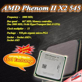 Harga AMD Phenom II X2 545 3.0GHZ AM3 Limited Stock (Refurbished)