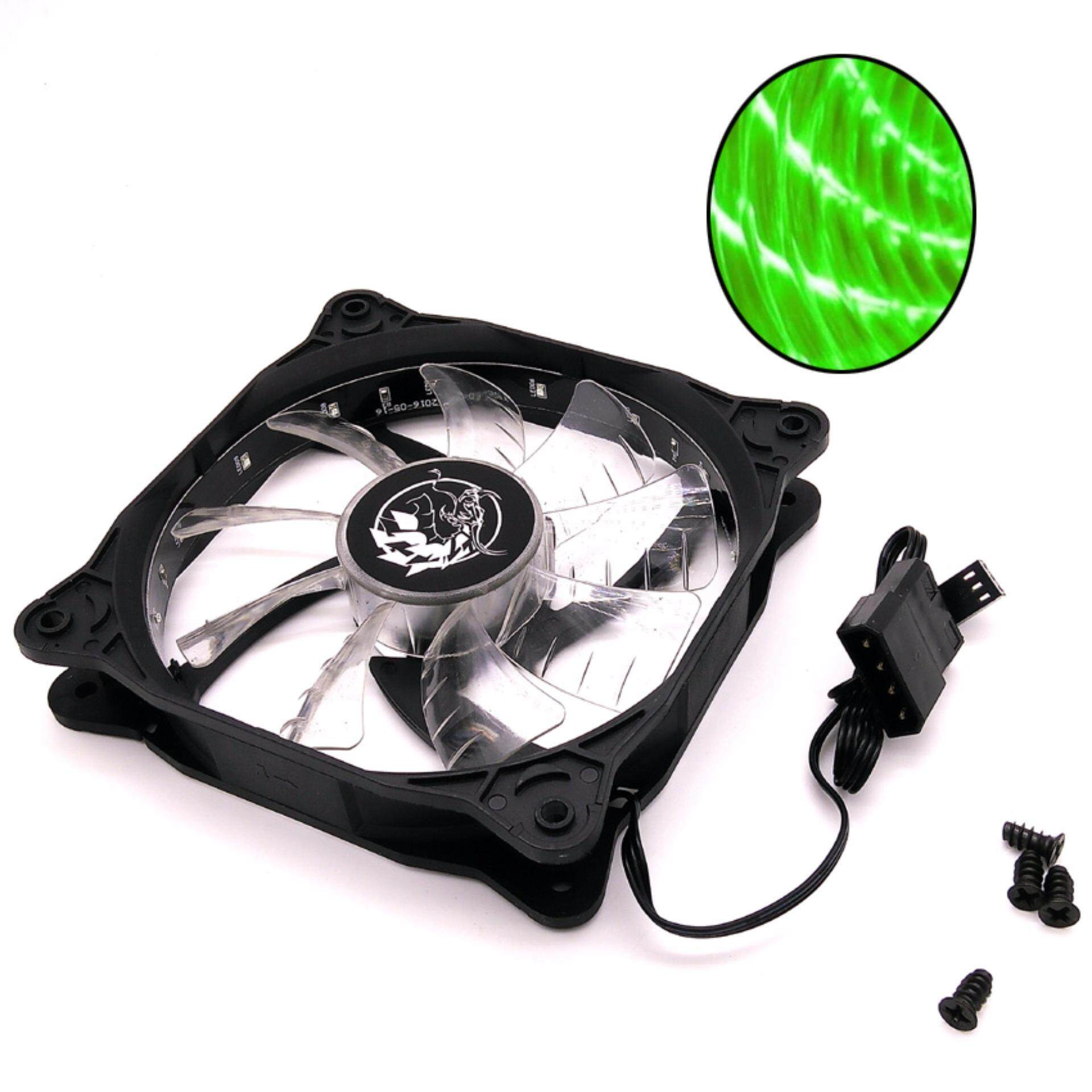 Imperion Supernova 120 FA-G12 Silent Edition 12CM LED Fan (Green)