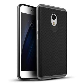Harga IPAKY PC Frame + TPU Back Hybrid Cover for Meizu m3s - Grey