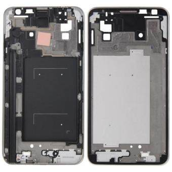 iPartsBuy Front Housing LCD Frame Bezel Plate Replacement forSamsung Galaxy Note 3 Neo / N7505 .