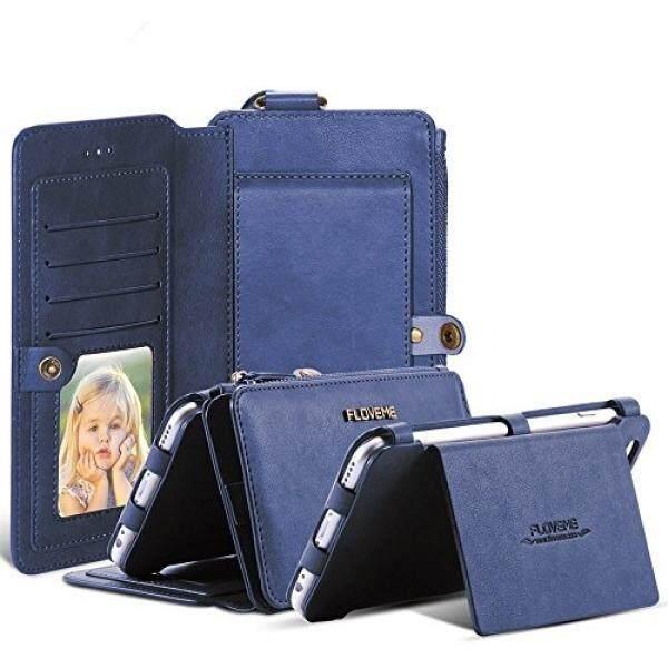 Iphone 6 6 S Ramping Dompet Case, floveme Multifungsi Hibrida Ganda Lapisan
