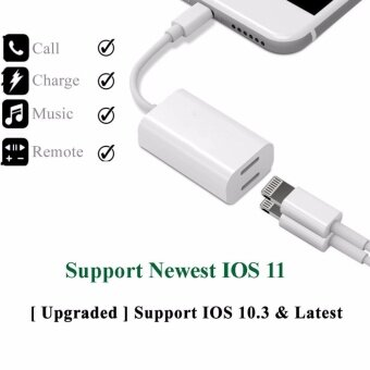 iPhone 7/7 plus Lightning Adapter & Splitter, Headphone Audio & Charge Adapter Cable