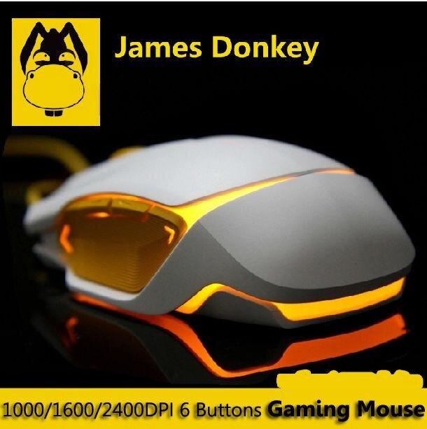 การใช้งาน  James Donkey LOFREE JD112 2400 จุดต่อนิ้ว 8D Optical 6 ปุ่ม USB เมาส์สำหรับเล่นเกมส์ WOW LOL - INTL