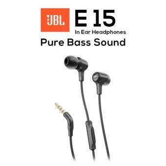 JBL E15 Signature Pure Bass Wired In-Ear Headphones (NEW) Original