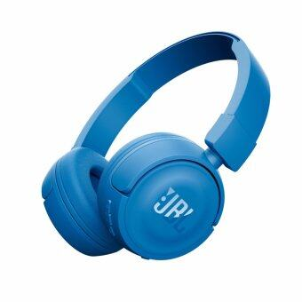 JBL T450BT Wireless On-ear Headphones (Blue)