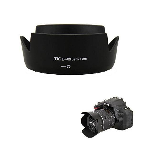 JJC Reversible Berdedikasi Lensa Tudung Bayangan untuk Nikon AF-S DX Nikkor 18-55