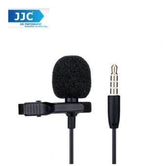 JJC SGM-28 Lavalier Microphone Clip Mic for 3.5mm Mobile PhoneApple Samsung Vivo oppo Voice Record