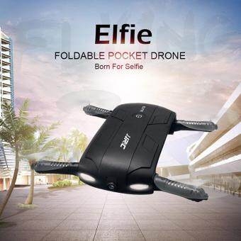 Harga JJRC H37 Elfie Foldable Mini RC Selfie Drone 720P HD Camera FPV Quadcopter Altitude Hold WiFi Phone Control