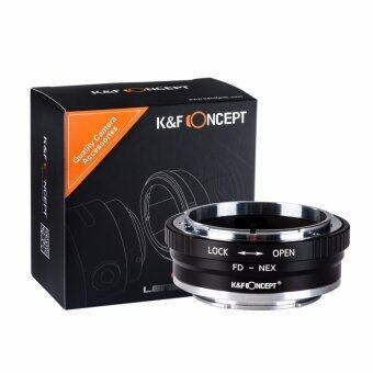 K&F Concept Adapter mark II for Canon FD Lens to Sony E-Mount Camera NEX a7R2
