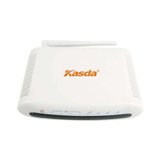 Kasda KW5815AUK 150Mbps Wifi ADSL2/2+ Modem Router Combo for PhoneLine Connection Home Network Router USB Host for Sharing (Intl) - intl