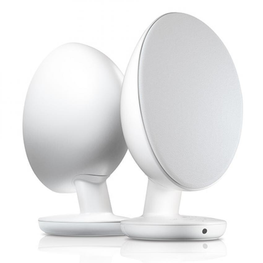 kef egg speakers. kef egg digital hi-fi speaker system - pure white (pair) | lazada malaysia kef egg speakers