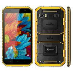 KEN XIN DA Proofing W9 2GB+16GB IP68 Waterproof Shockproof Dustproof 6.0 inch Android 5.1 MTK6753 Octa Core Network Yellow