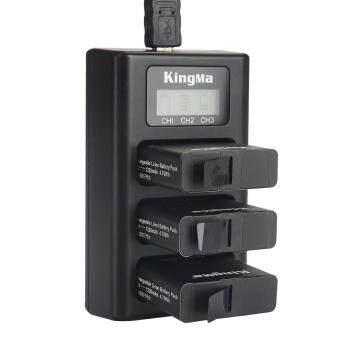 Kingma BM043 3-Slot Battery Charger for GoPro Hero 5 - Black - 4