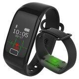 ราคา Kisnow K18S Bluetooth Waterproof Heart Rate Monitor Sleep Sports Bracelet Smart Activity Trackers Color Black Kisnow ออนไลน์