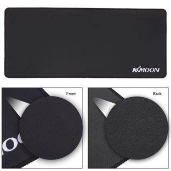 KKmoon 700*300*3mm Large Size Plain Black Extended Water-resistant Anti-slip Rubber Speed Gaming Game Mouse Mice Pad Desk Mat Malaysia