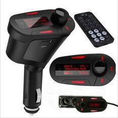 Beli Lcd Mobil Kit Bluetooth Mp3 Pemain Fm Pemancar Modulasi Merah Oem Murah