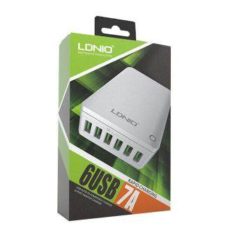 Harga LDNIO A6703 6-PORT Desktop Charger