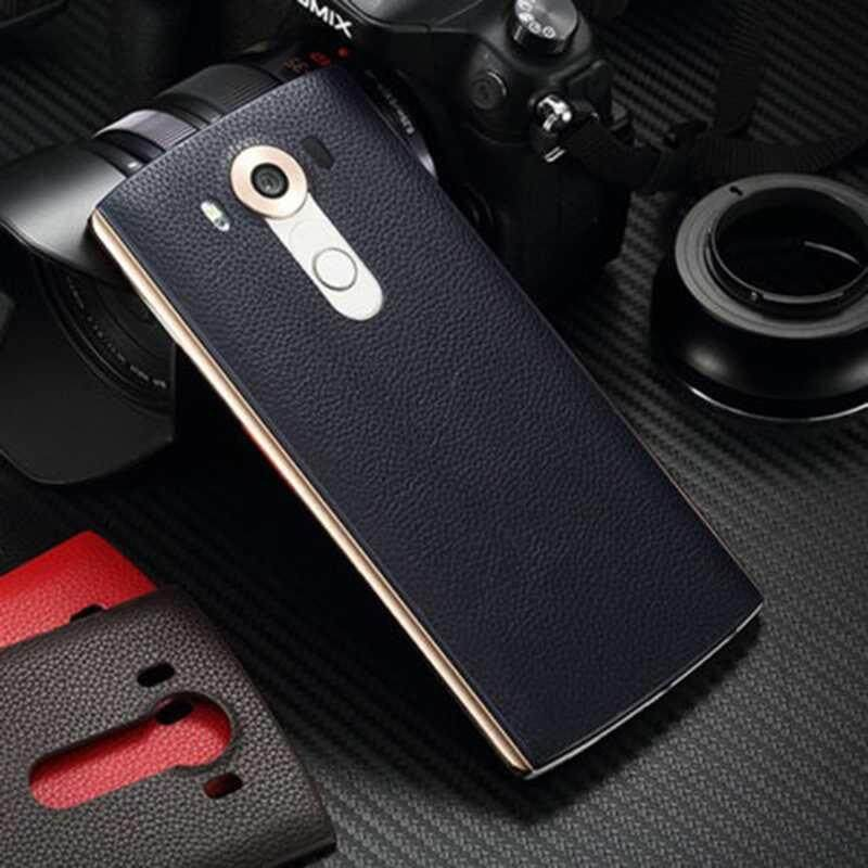 Leather Rear Battery Back Door Case Cover Wireless Charging NFC For LG V10 New - intl