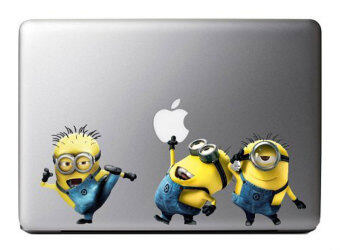 Leegoal Colorful Minions Despicable Me Vinyl Decal Stickers Art Skin Protector For Apple Macbook Laptop