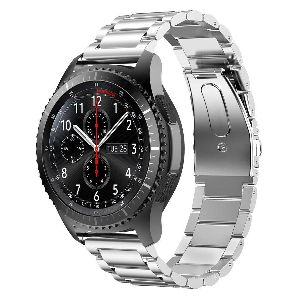 Kobwa Stainless Steel Watch Band Link Bracelet Replacement Strap For Samsung Gear S3