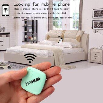 LeeHUR Key Finder Smart Tag GPS Tracker Locator Alarm Anti LostWallet Pet Child for Smartphone with Bluetooth 4.0 Above White - 3