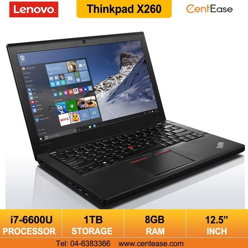 Lenovo Thinkpad X260 Laptop Notebook- 12.5Inch/ Windows 10 pro/ Core i7 Malaysia