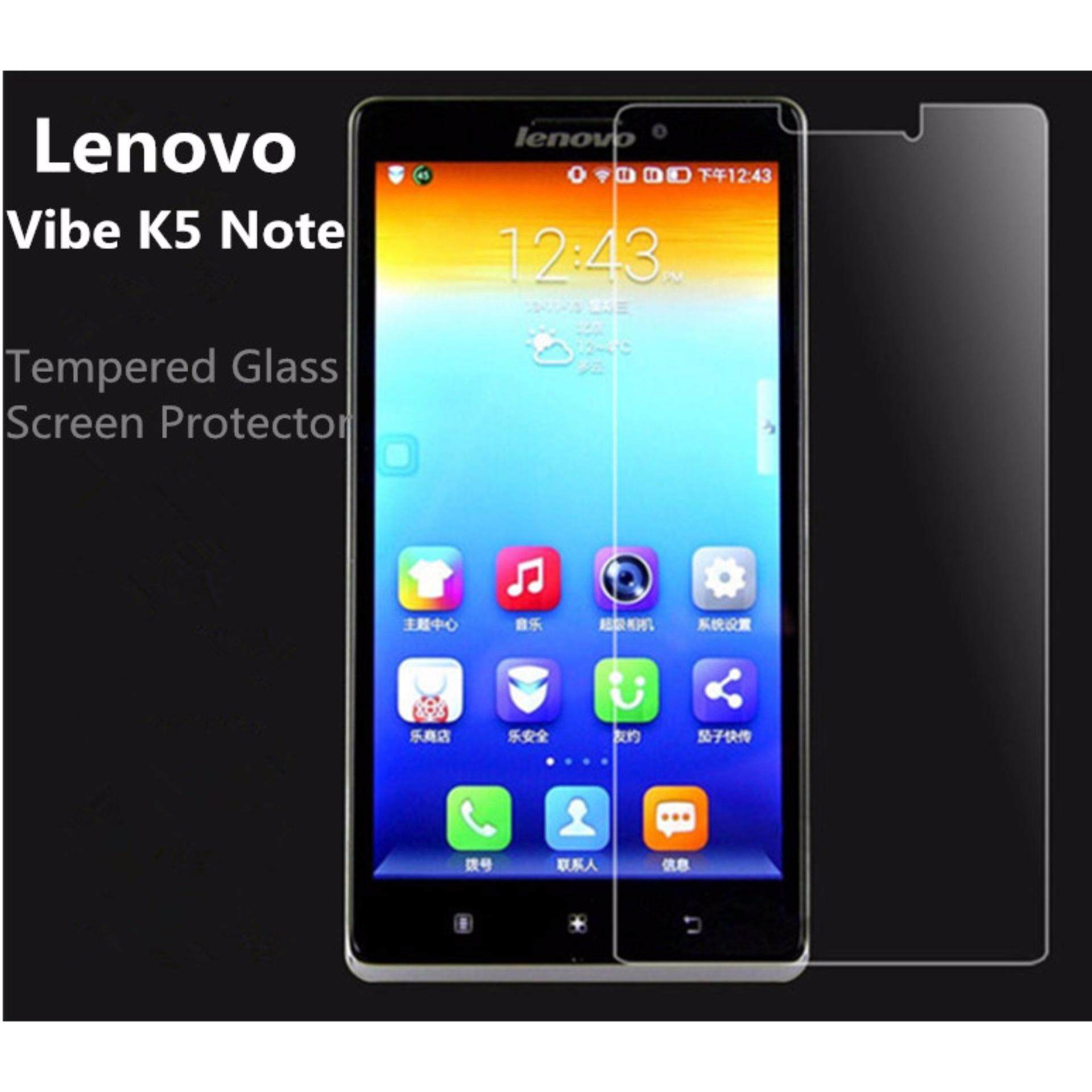 Lenovo Vibe K5 Note Tempered Glass Screen Protector 9H Round Edges