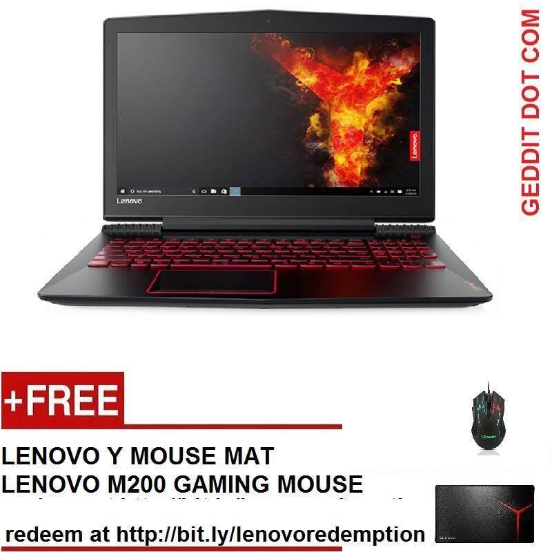 LENOVO Y520-15IKBN 80WK0125MJ (i7-7700HQ,4GB DDR4,2TB,GTX1050Ti,15.6 FHD,W10,2 YEAR ONSITE) FREE LENOVO LEGION BACKPACK Malaysia