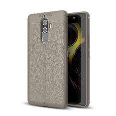 Lenuo Ledakan-bukti Dermatoglyph Silikon Cangkang Ponsel Sarung TPU Lembut Kasus untuk Lenovo K8 Catatan
