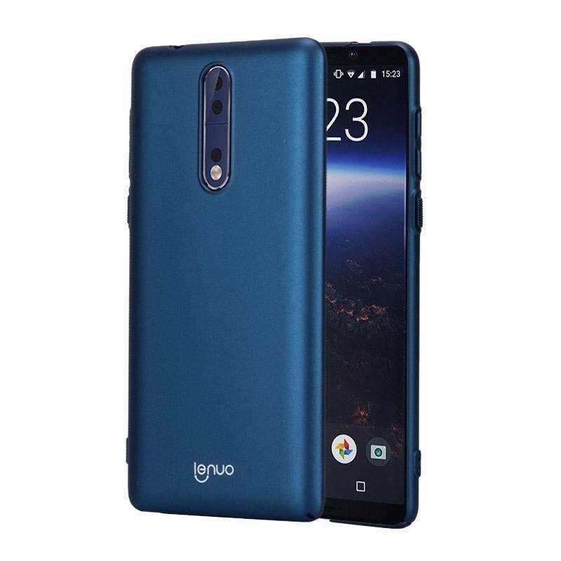 Bán Lenuo Danh Cho Nokia 8 Cai Cực Va Đập Bảo Vệ Ốp Lưng Xanh Dương Quốc Tế Sunsky Rẻ
