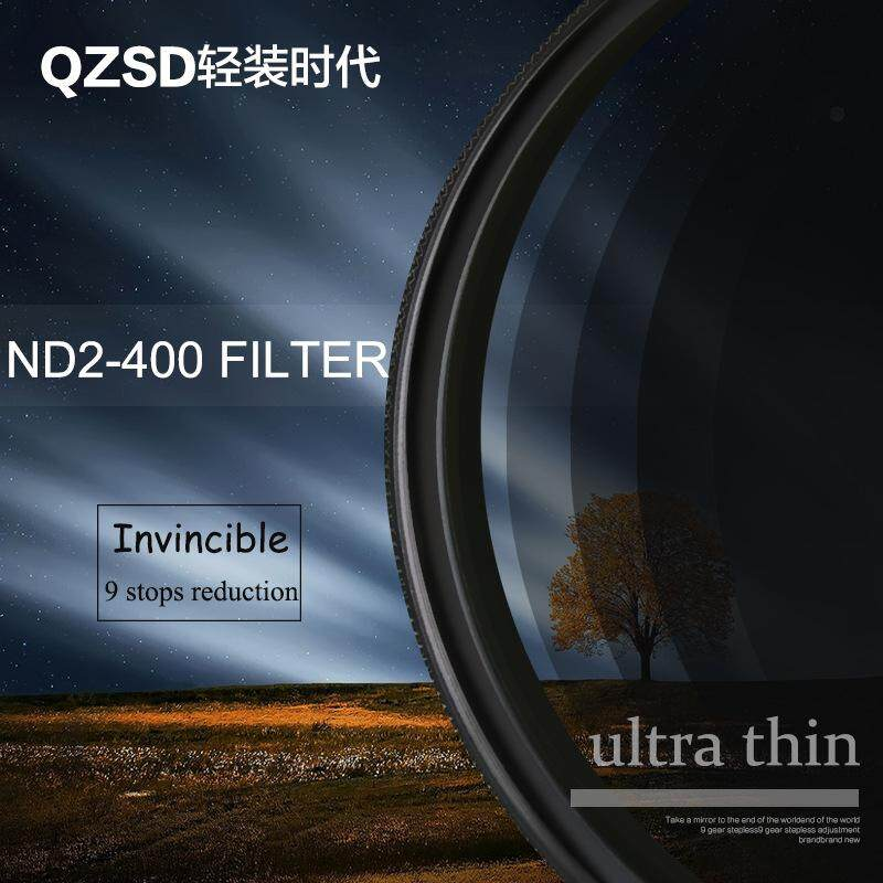 【BLN-Tech】Light Loading Age 6772 Adjustable Nd Mirror Light Reducer 400 Grey Density Filter In Ash Mirror 52mm - intl
