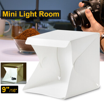"Harga Light Room Photo Studio 9"" Photography Lighting Tent Kit Mini Cube Box LF755"