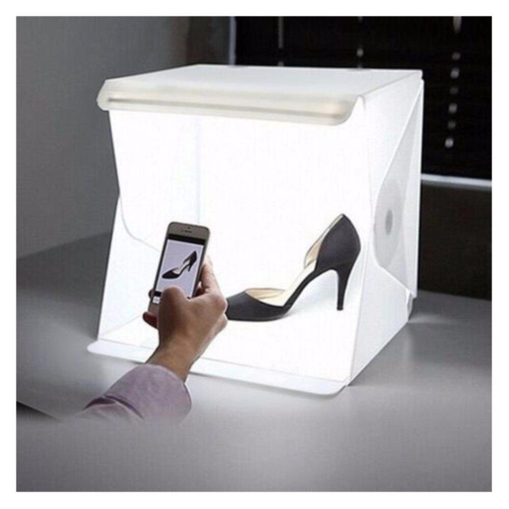 & Light Room Studio Photography LED Lighting Tent Backdrop Cube Box-P02