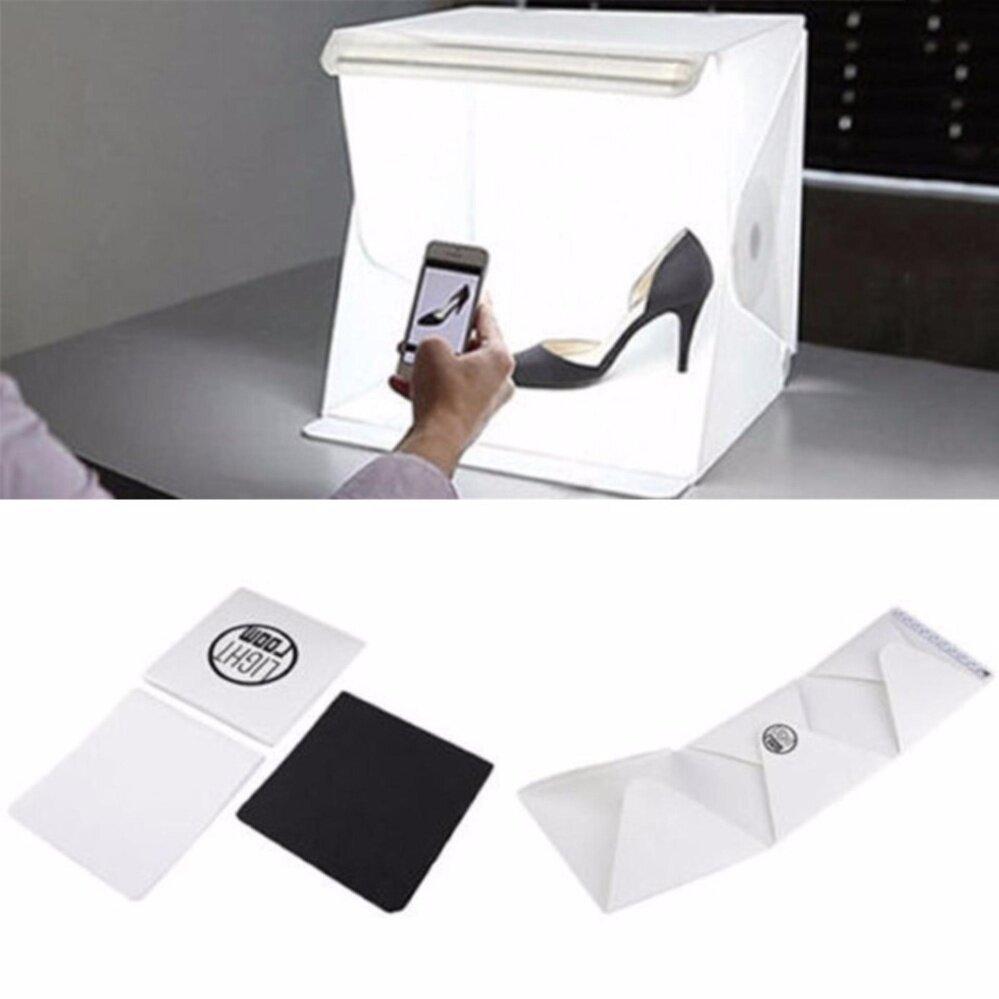 sc 1 st  Youbeli & Light Room Studio Photography LED lighting Tent Backdrop Cube Box Minl