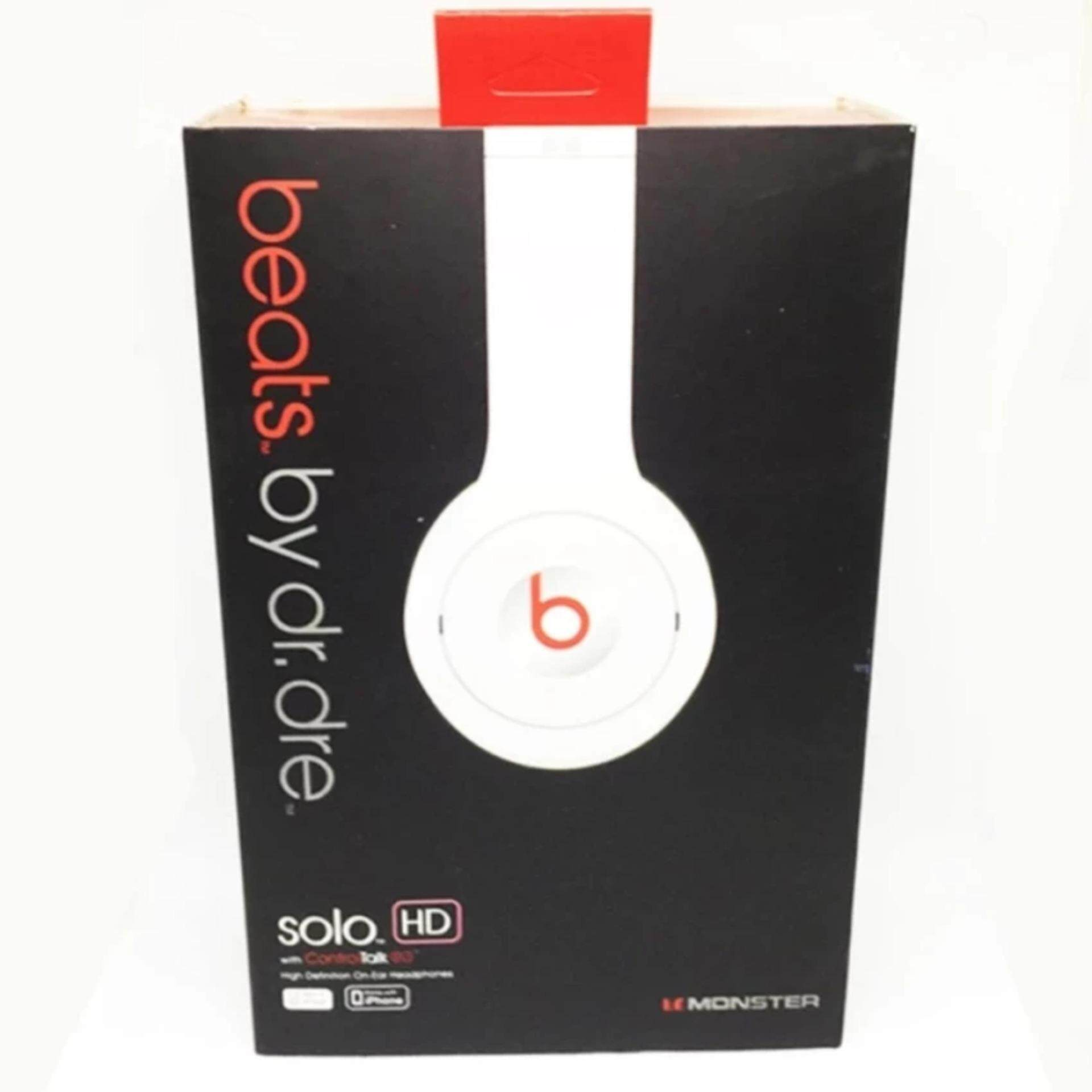 [LIMITED STOCK] SOLO HD HEADSET (WHITE)