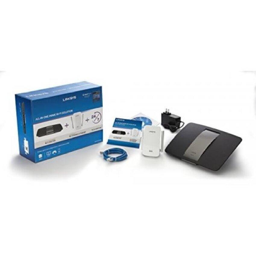 LINKSYS F5Z0636 Semua Dalam Satu Rumah Solusi Wifi Pintar Router AC1750AND  AC1200 Extender (Bersertifikat Diperbaharui f1106b3e61
