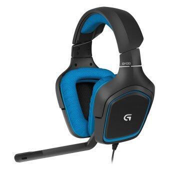 LOGITECH G430 GAMING HEADSET Black Blue - 2