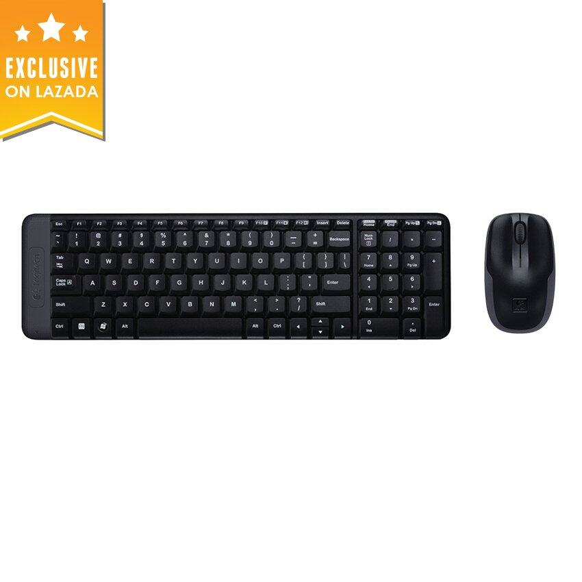 Logitech MK215 USB Wireless Keyboard + Mouse Combo Malaysia