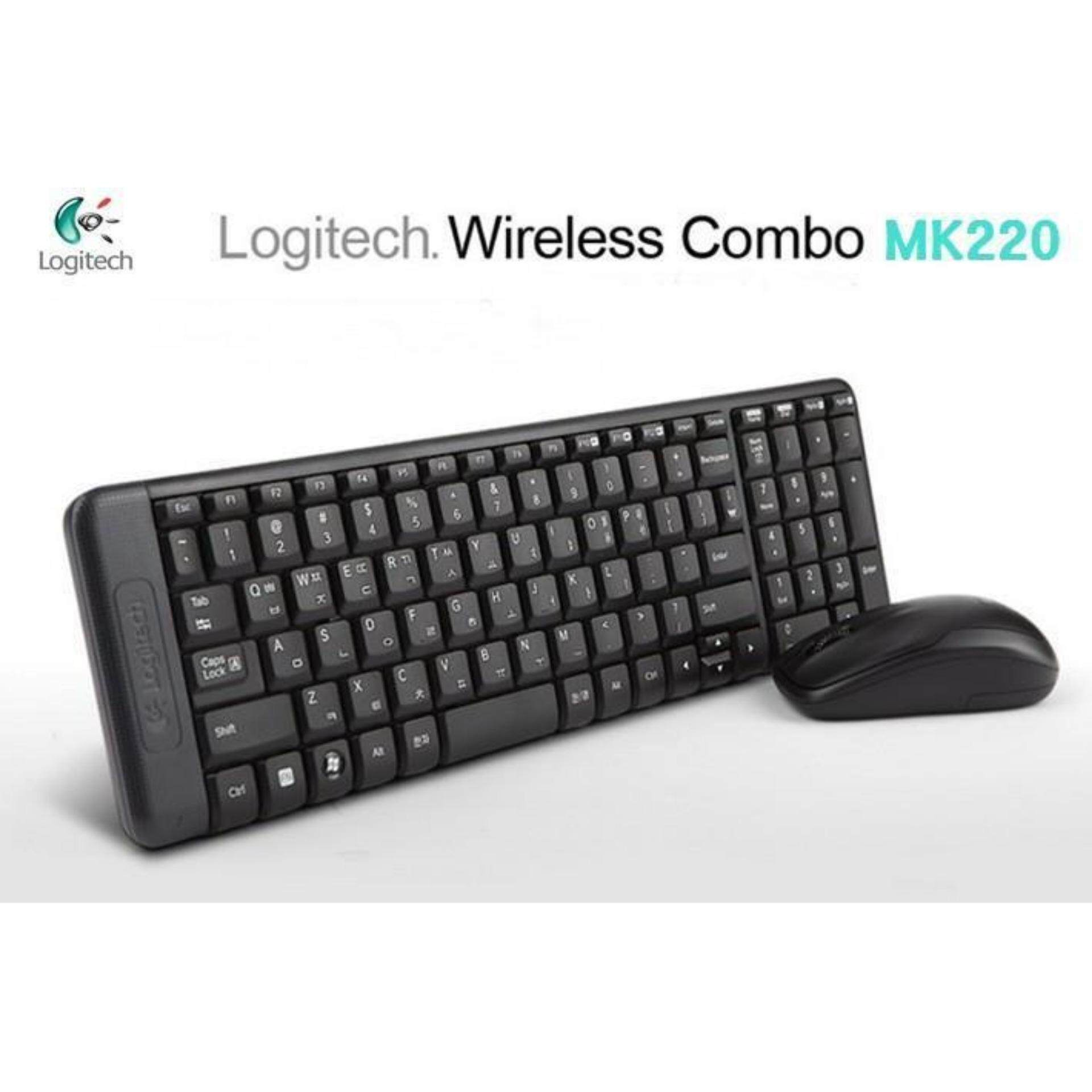 LOGITECH MK220 Wireless Combo Keyboard & Mouse