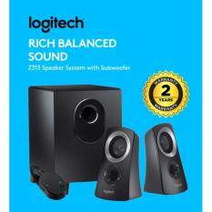 Logitech Z313 Rich Balanced Sound 2.1 Stereo Speaker System with Subwoofer 25W Malaysia