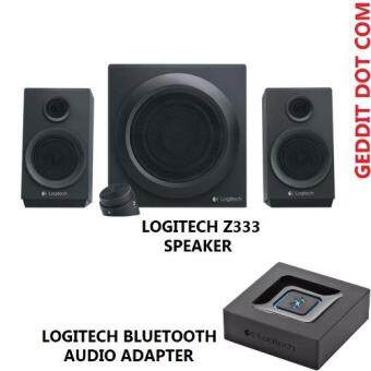Harga LOGITECH Z333 SPEAKER + LOGITECH BLUETOOTH AUDIO ADAPTOR