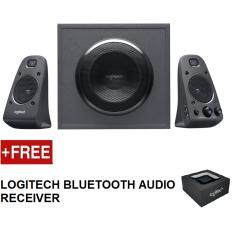 LOGITECH Z625 SPEAKER SYSTEM WITH SUBWOOFER AND OPTICAL INPUT FREE LOGITECH BLUETOOTH AUDIO RECEIVER Malaysia