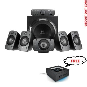 Harga Logitech Z906 THX Speaker and Logitech Bluetooth Wireless AudioAdaptor