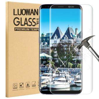 Harga LUOWAN Galaxy S8 Plus Tempered Glass Screen Protector,3D FullCoverage Screen Protector for Samsung Galaxy S8 Plus (Clear)
