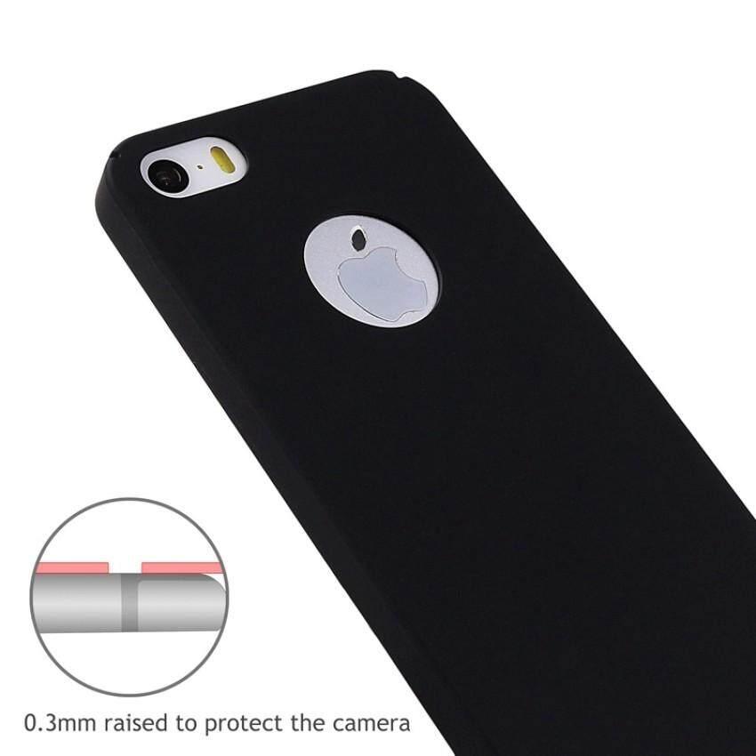 ... Undeste Mewah Keras Belakang Plastik Warna Tidak Mengkilap Case untuk iPhone SE Case S 5 S